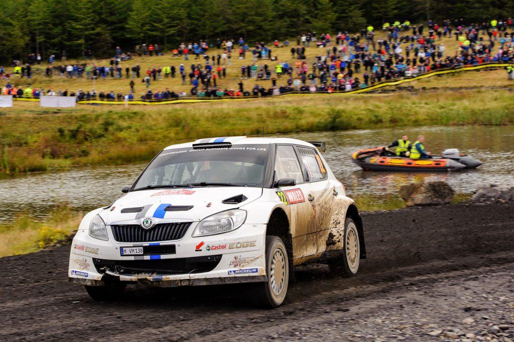 Sébastien Ogier / Julien Ingrassia, ŠKODA FABIA S2000, Volkswagen Motorsport. Wales Rally GB 2012