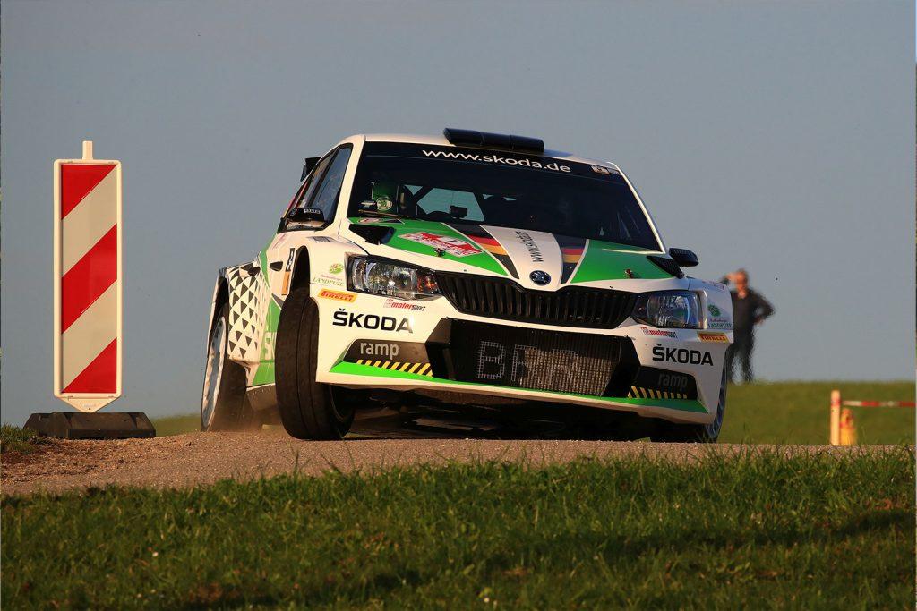 Fabian Kreim / Frank Christian, ŠKODA FABIA R5, ŠKODA Auto Deutschland. 3-Städte-Rallye 2017