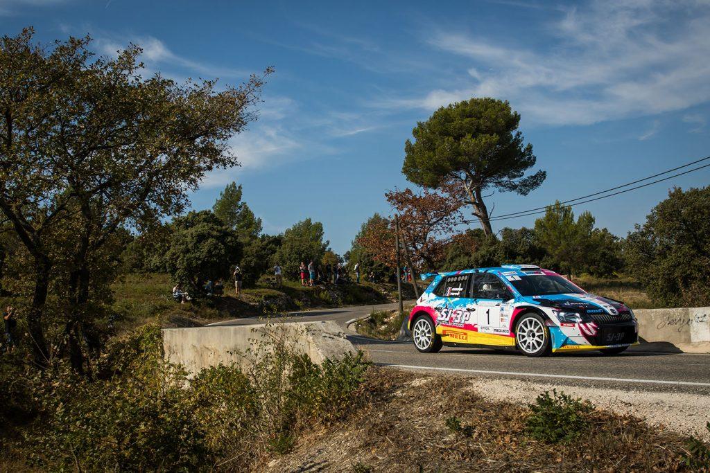 Anthony Puppo / Jérémy Cenci, ŠKODA FABIA R5. Finale de la Coupe de France des Rallyes Marseille 2017