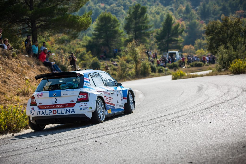 Mathieu Arzeno / Romain Roche, ŠKODA FABIA R5. Finale de la Coupe de France des Rallyes Marseille 2017