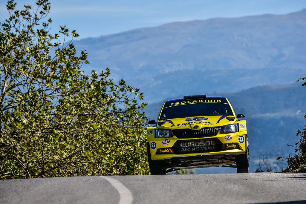 Socratis Tsolakidis / Harris Dimos, ŠKODA FABIA R5. Historic Rally of Greece (Larissa Rally) 2017