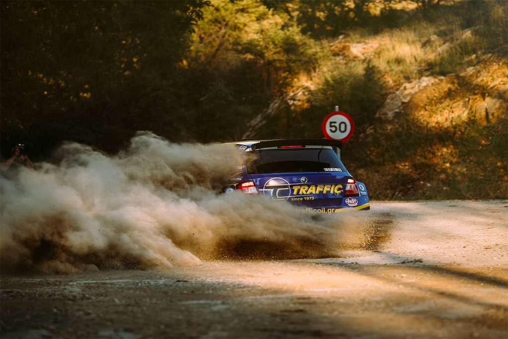 Socratis Tsolakidis / Harris Dimos, ŠKODA FABIA R5. Historic Rally of Greece - GRC 2017 (Larissa Rally)