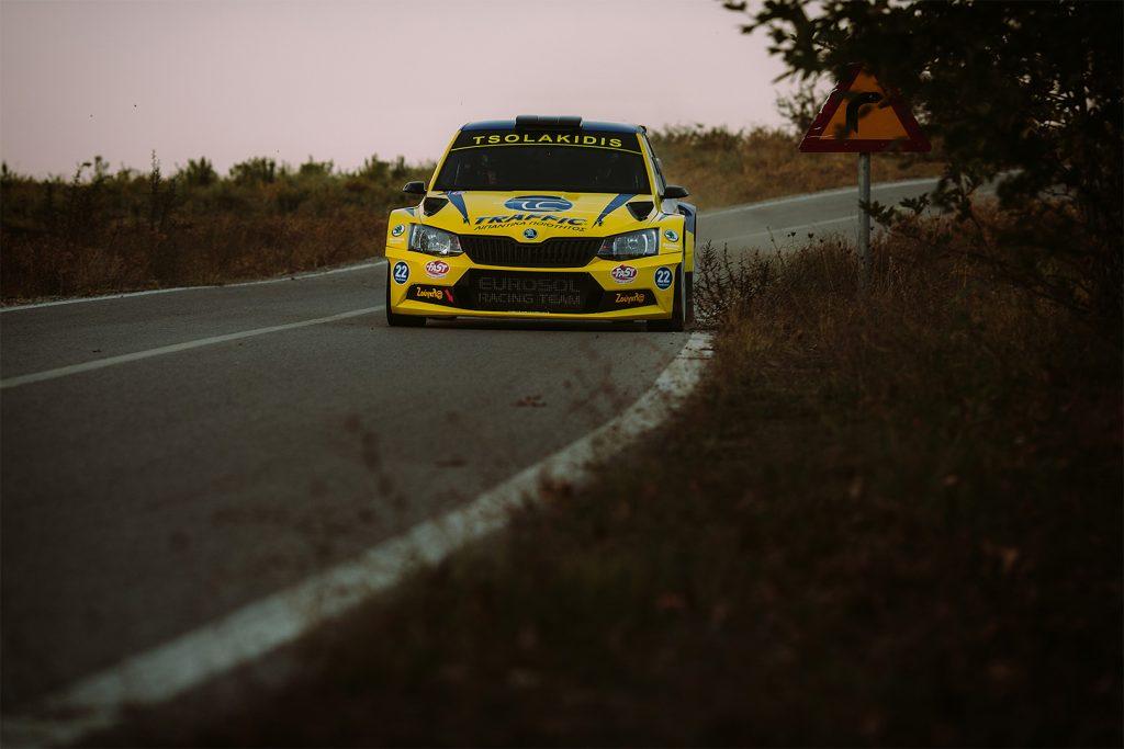 Socratis Tsolakidis / Harris Dimos, ŠKODA FABIA R5. Historic Rally of Greece – GRC 2017 (Larissa Rally)