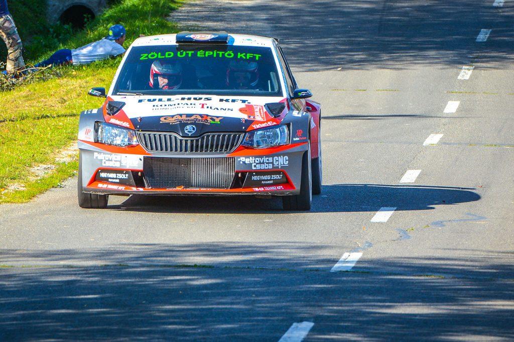 Ferenc Vincze jun. / Attila Bazsó, ŠKODA FABIA R5, S-Motorsport SE. Mecsek Rallye 2017