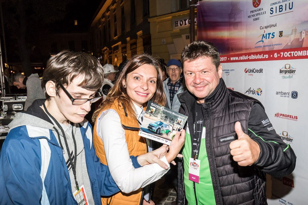 Dan Girtofan, ŠKODA FABIA R5. Raliul Sibiului 2017 (Photo: Adrian Torjoc & Bogdan Barabas)