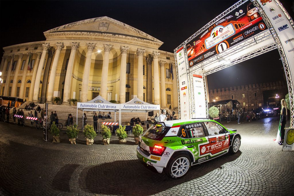 Luca Rossetti / Matteo Chiarcossi, ŠKODA FABIA R5, PA Racing. Rally Due Valli 2017