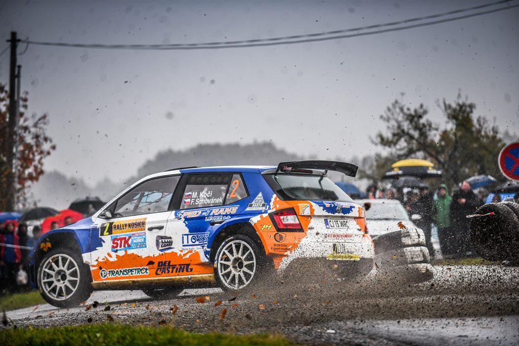 Martin Koči / Filip Schovánek, ŠKODA FABIA R5, Styllex Motorsport s.r.o.. Rally Košice 2017