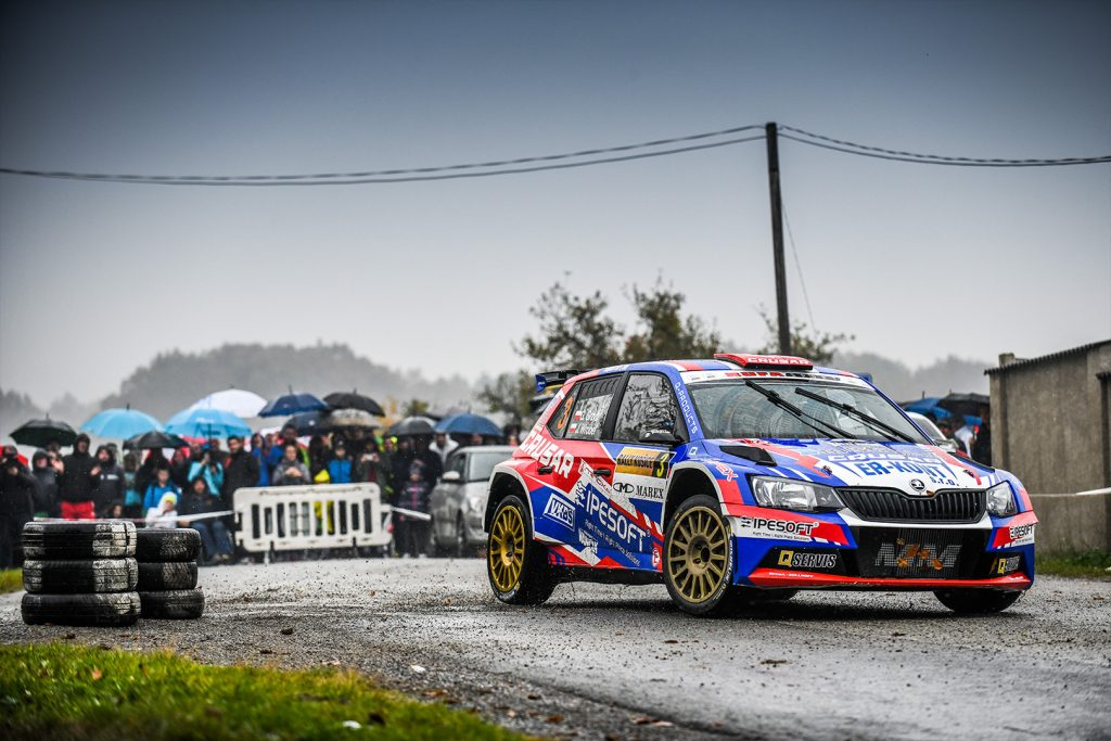 Grzegorz Grzyb / Jakub Wróbel, ŠKODA FABIA R5, Rufa Sport. Rally Košice 2017