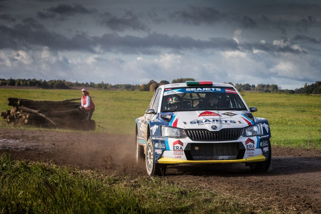 Bruno Magalhães / Hugo Magalhães, ŠKODA FABIA R5. Rally Liepāja 2017