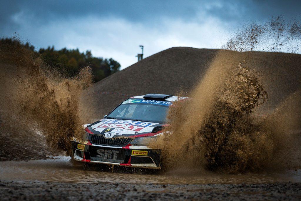 Nikolay Gryazin / Yaroslav Fedorov, ŠKODA FABIA R5, Sports Racing Technologies. Rally Liepāja 2017