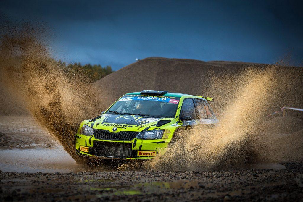 Rakan Al-Rashed / Jarkko Kalliolepo, ŠKODA FABIA R5, TGS Worldwide OU. Rally Liepāja 2017