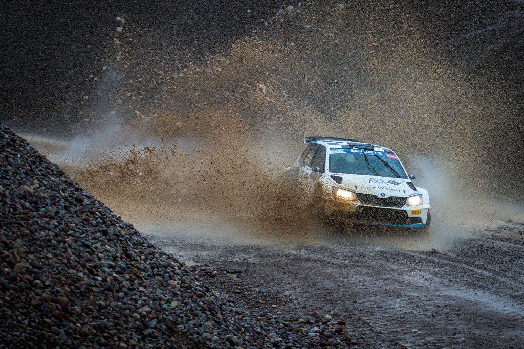 Albert von Thurn und Taxis / Bjorn Degandt, ŠKODA FABIA R5. Rally Liepāja 2017