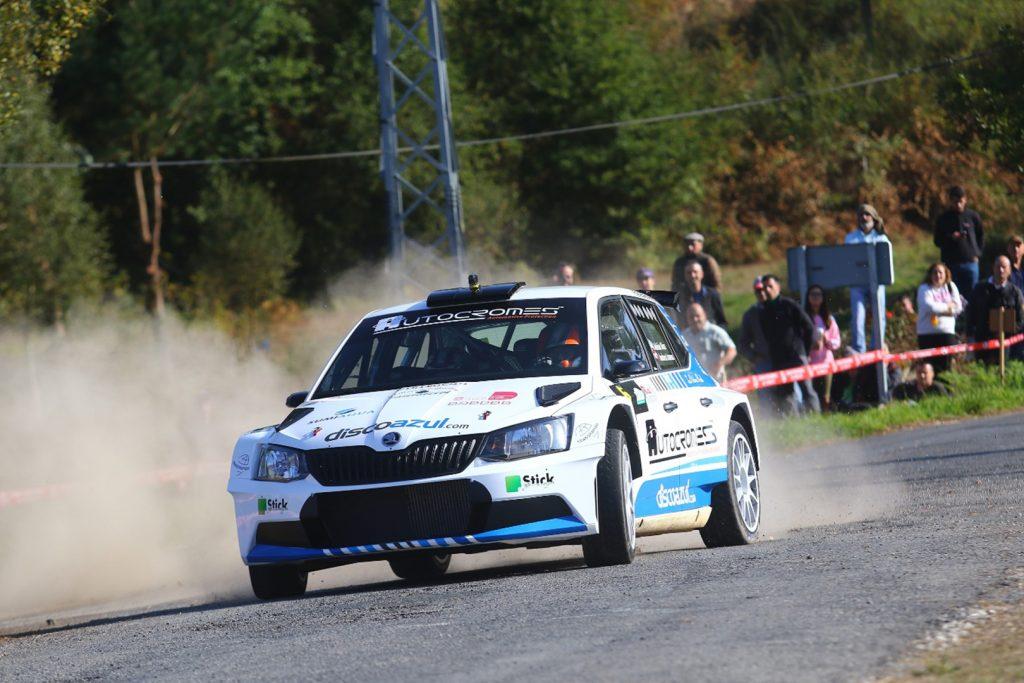 Adrián Díaz Pérez / Andrea Lamas, ŠKODA FABIA R5, Escudería Miño-Lugo. Rallye San Froilán 2017