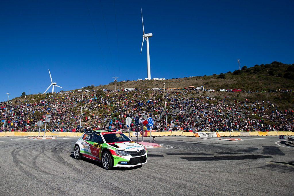 Benito Guerra jr./ Daniel Cué, ŠKODA FABIA R5, Motorsport Italia. RallyRACC Catalunya - Costa Daurada 2017