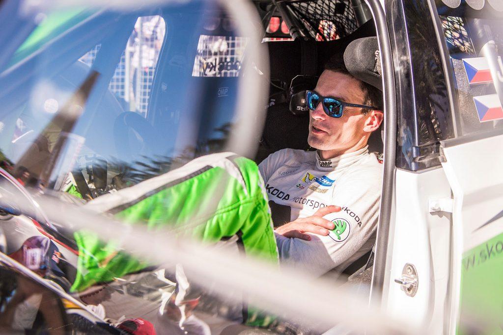 Jan Kopecký, ŠKODA FABIA R5, ŠKODA Motorsport. RallyRACC Catalunya – Costa Daurada 2017