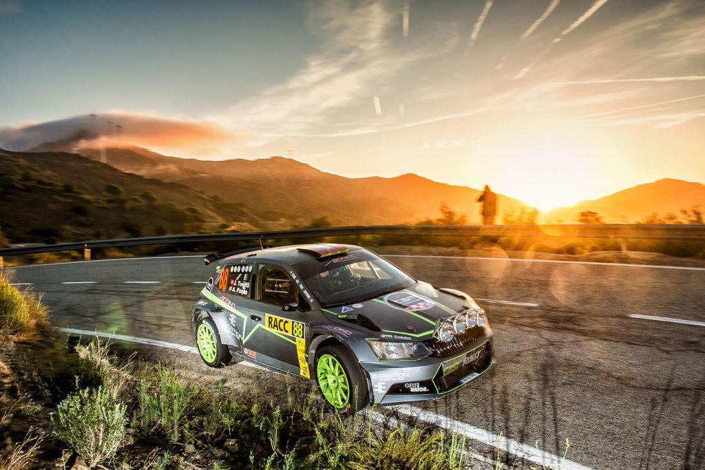 Jérémie Toedtli / Antoine Paque, ŠKODA FABIA R5, Jérémie Toedtli. RallyRACC Catalunya – Costa Daurada 2017