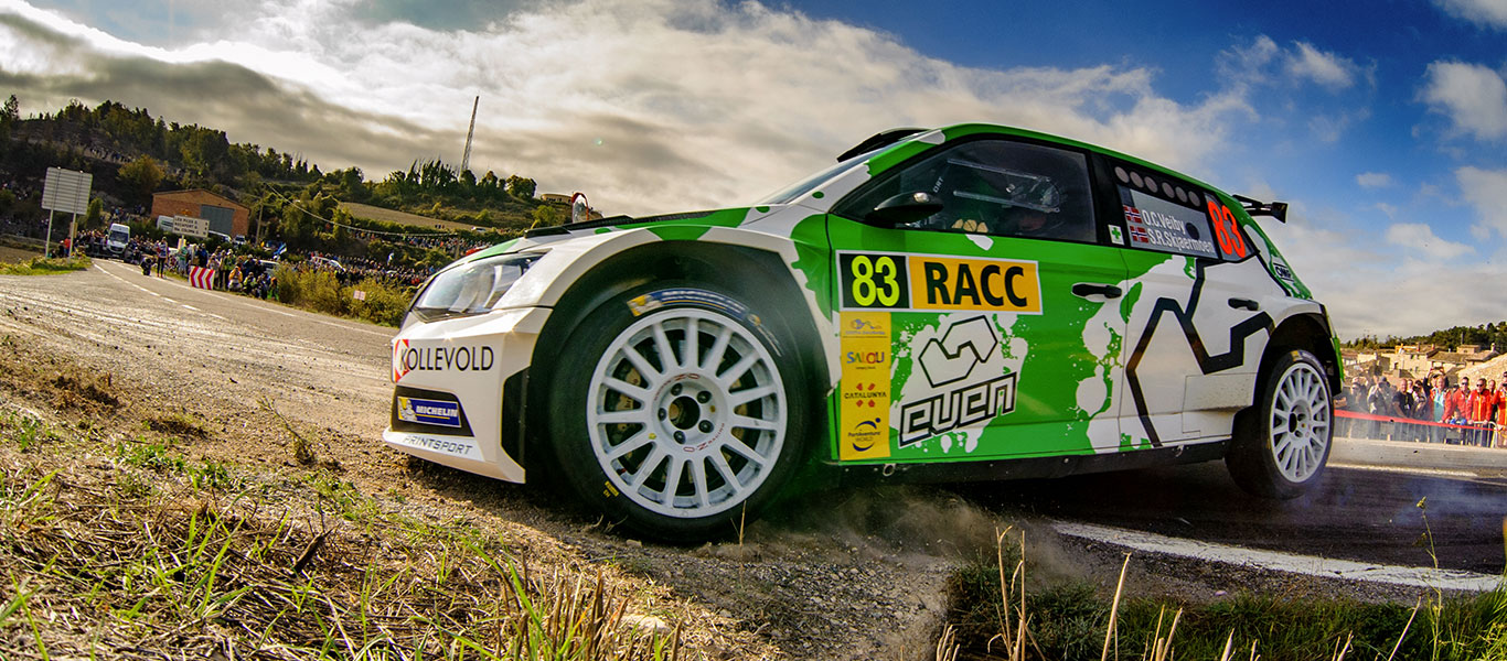 PHOTO: ŠKODA Customer Teams at the RallyRACC Catalunya – Costa Daurada 2017