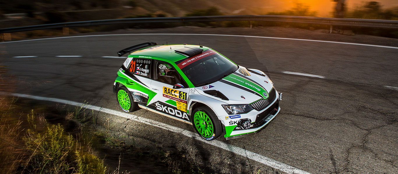 PHOTO: ŠKODA Motorsport at the RallyRACC Catalunya – Costa Daurada 2017