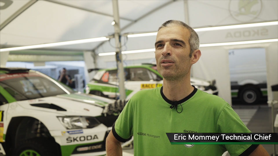 Eric Mommey, Technical Chief, ŠKODA FABIA R5, ŠKODA Motorsport. RallyRACC Catalunya – Costa Daurada 2017