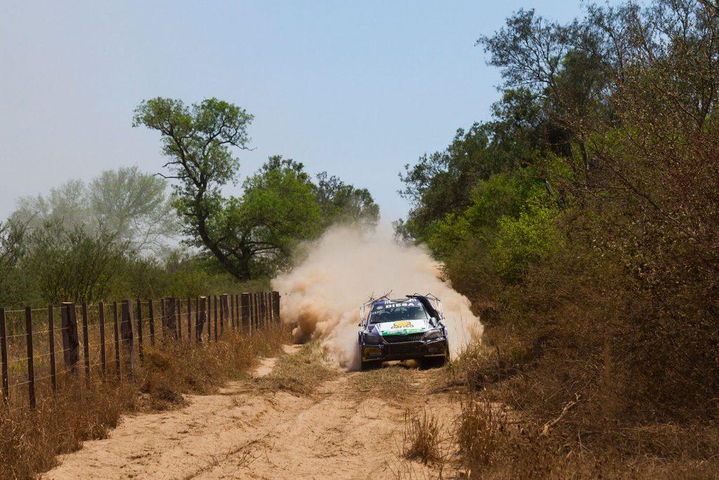 "Miguel ""Miki"" Zaldivar / Edgardo Galindo, ŠKODA FABIA R5. Transchaco Rally 2017"
