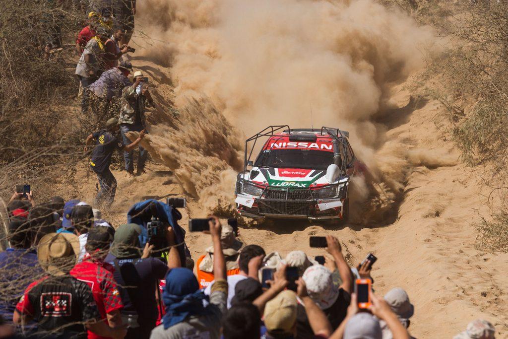 Didier Arias / Hector Nunes, ŠKODA FABIA R5. Transchaco Rally 2017