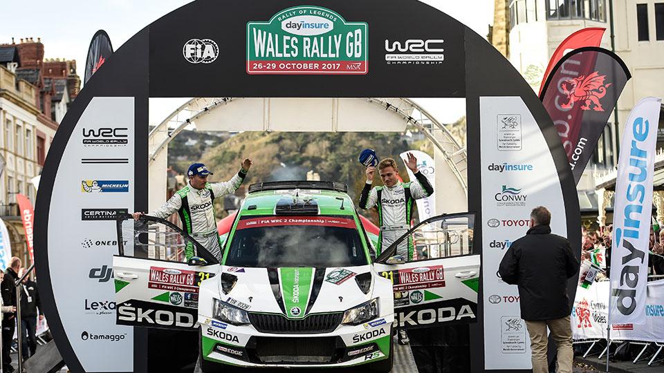 Wales Rally GB 2017 – Leg 3