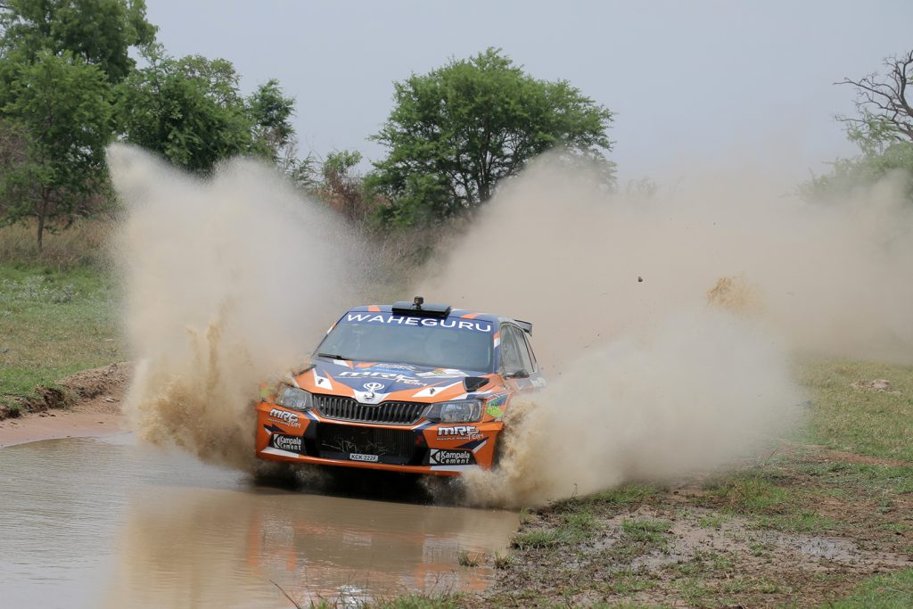 Manvir Singh Baryan / Drew Sturrock, ŠKODA FABIA R5, Multiple Racing Team. Zambia International Rally 2017 (Photo: Deepak Sankreacha)
