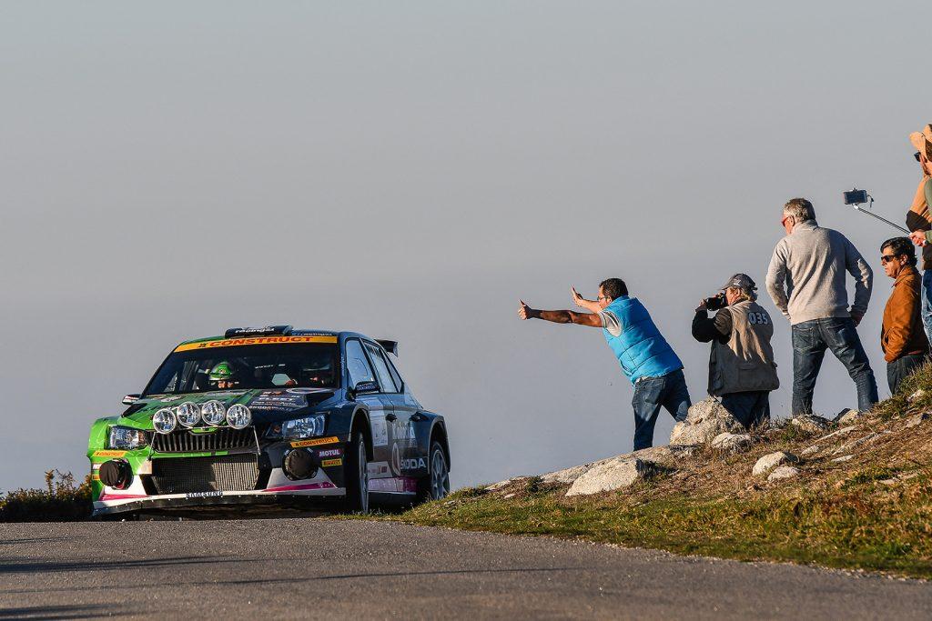Vojtěch Štajf / Markéta Skácelová, ŠKODA FABIA R5, ACCR Czech Team. Rallye Casinos do Algarve
