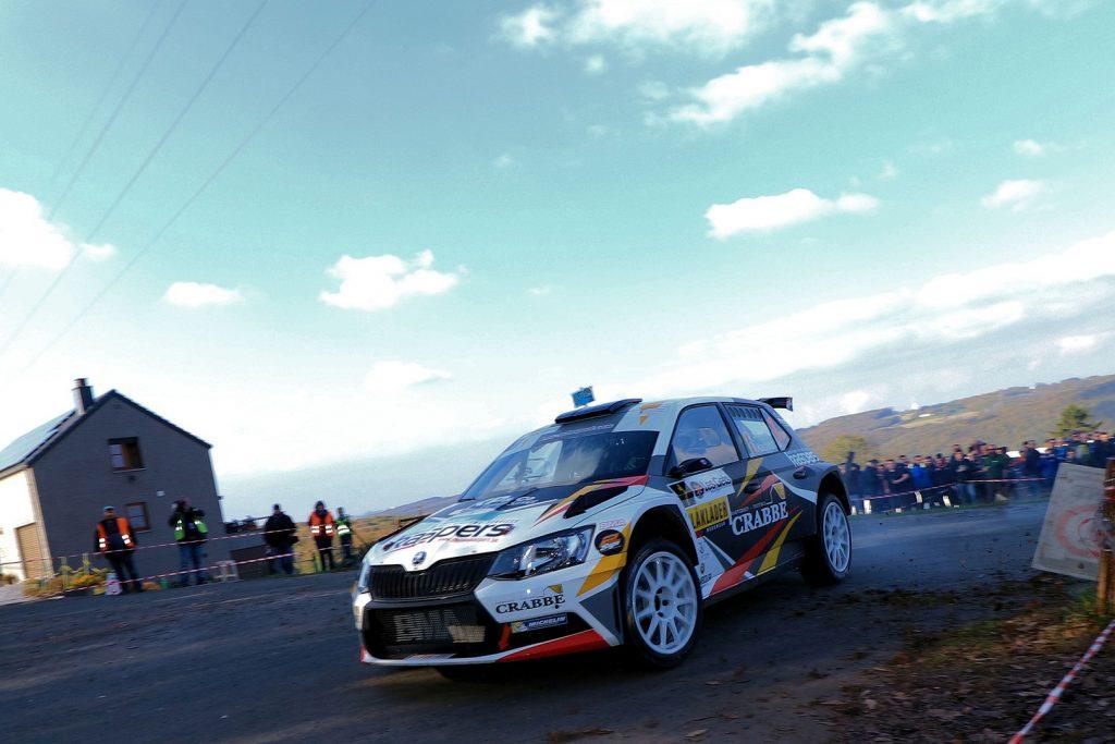 Kris Princen / Peter Kaspers, ŠKODA FABIA R5. Rallye du Condroz-Huy 2017 (Foto: BRC Media)