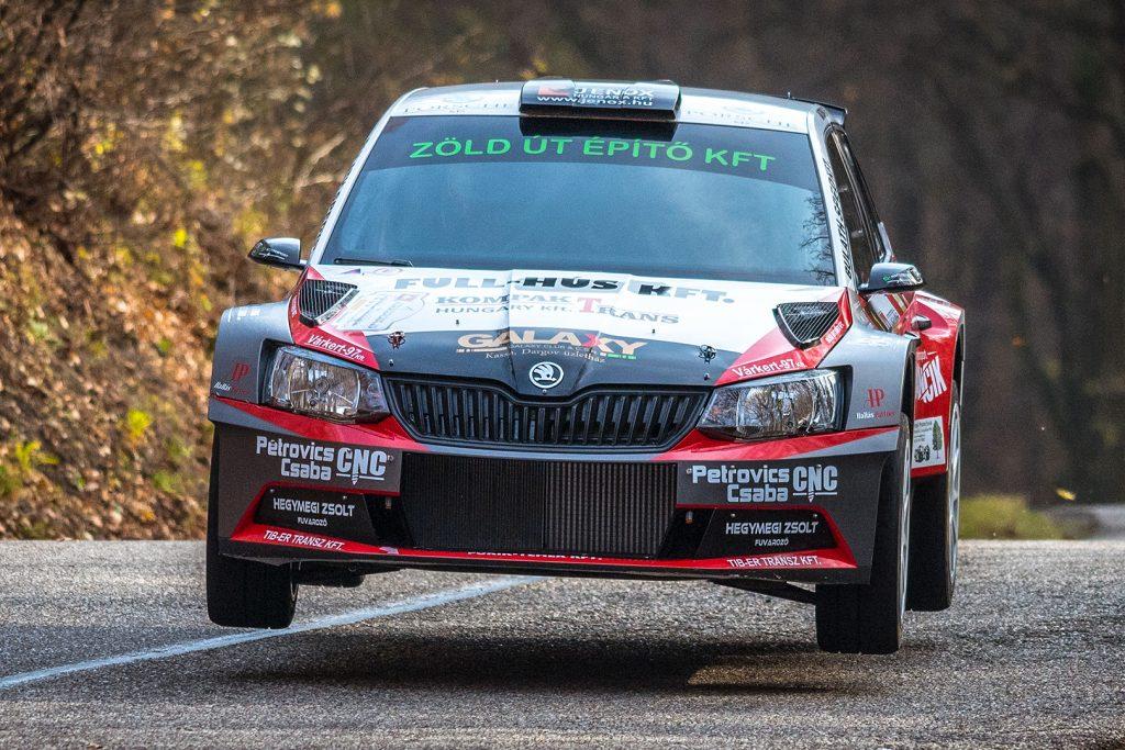 Ferenc Vincze jun. / Attila Bazsó, ŠKODA FABIA R5, S-Motorsport SE. Eger Rallye 2017