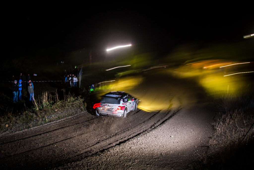 Jiří Tošovský / Tomáš Plachý, ŠKODA FABIA R5. Lausitz Rallye 2017