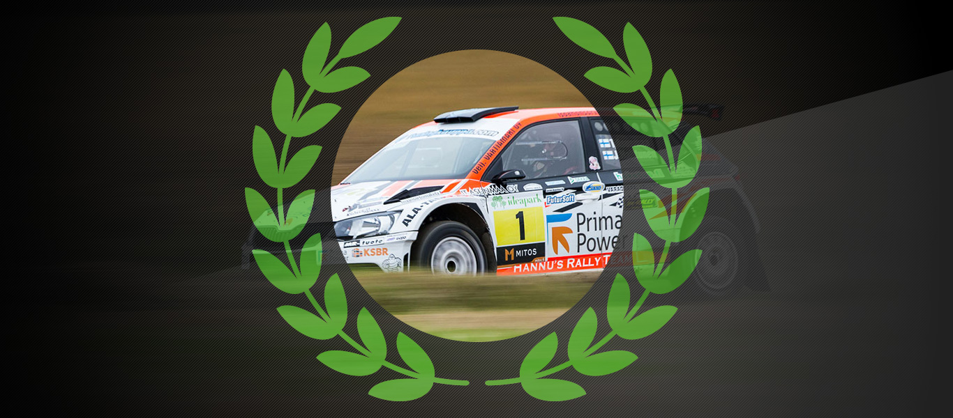 Šampióni 2017: Teemu Asunmaa vybojoval s vozem ŠKODA FABIA R5 finský titul