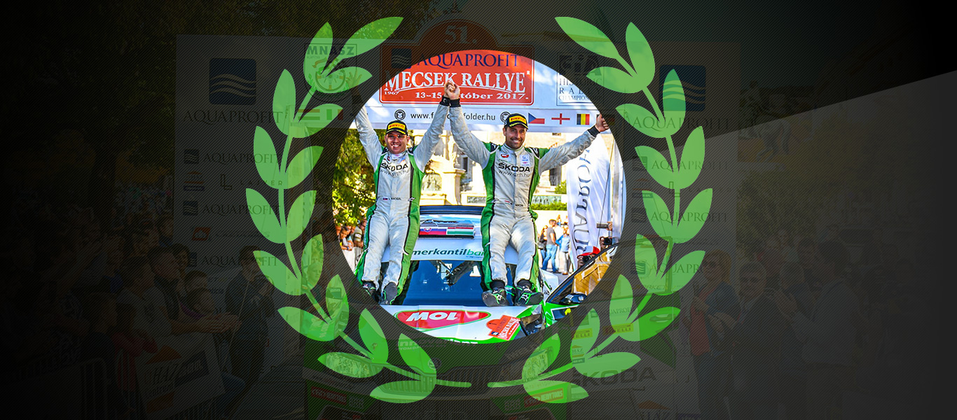 2017 Champs: Norbert Herczig clinches third successive Hungarian rally title