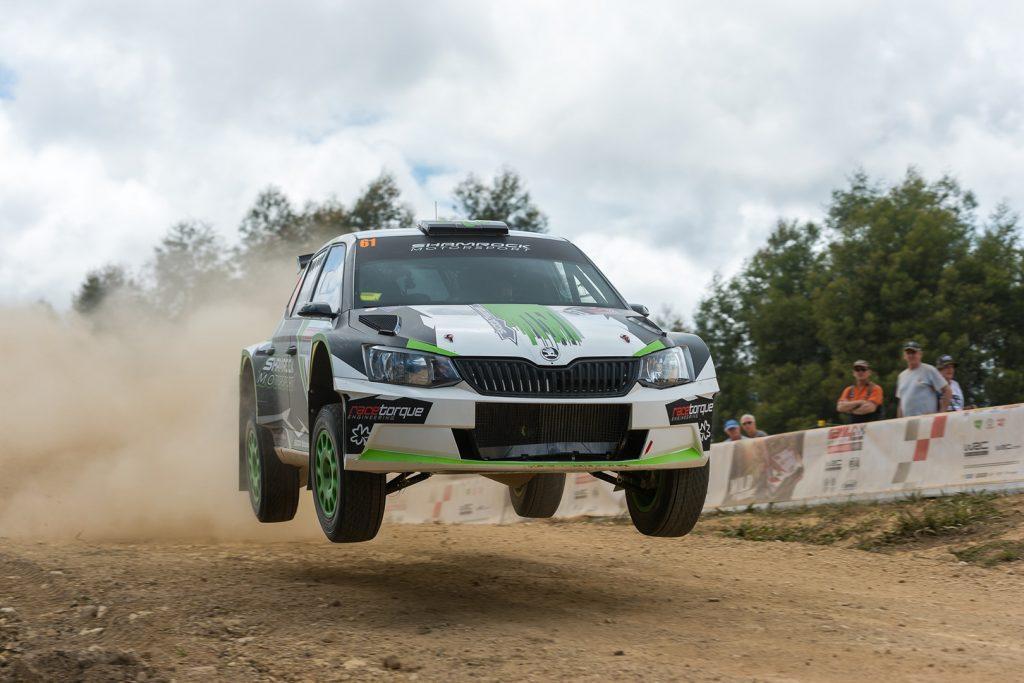 Richie Dalton / John Allen, ŠKODA FABIA R5. Rally Australia 2017