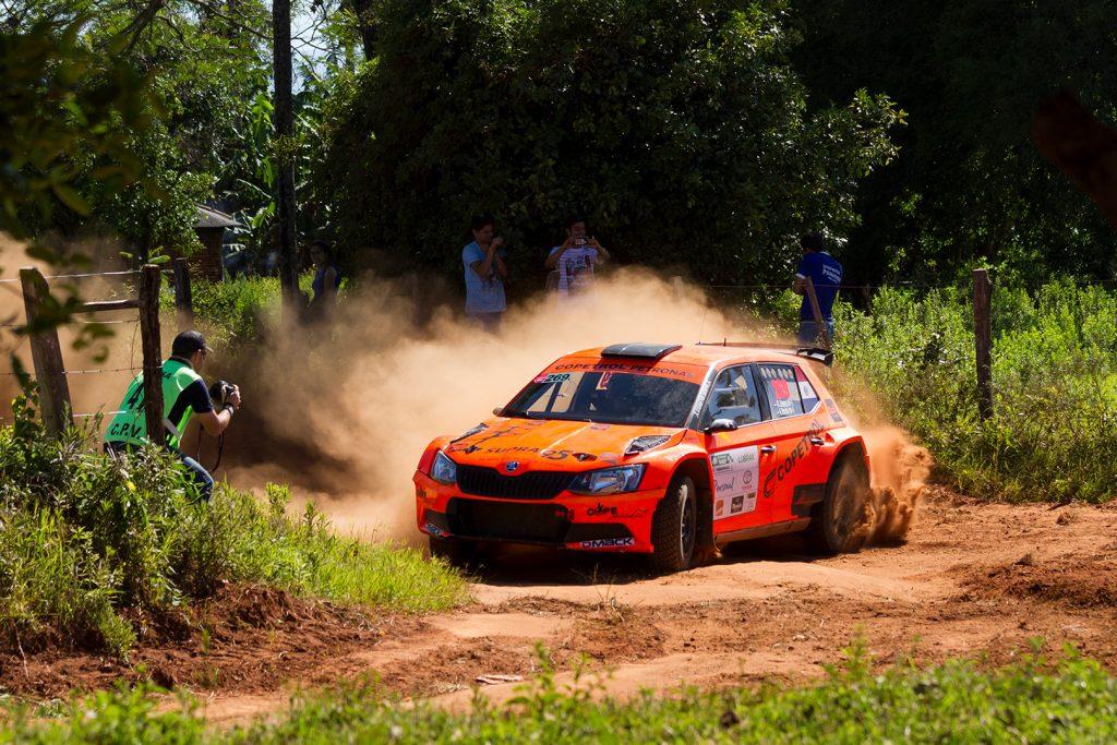 Blas Zapag / Enrique Fratta, ŠKODA FABIA R5. Rally Carapegua 2017