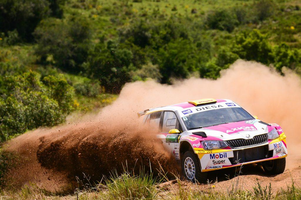 Gustavo Saba / Fernando Musaano, ŠKODA FABIA R5. Rally del Atlántico 2017