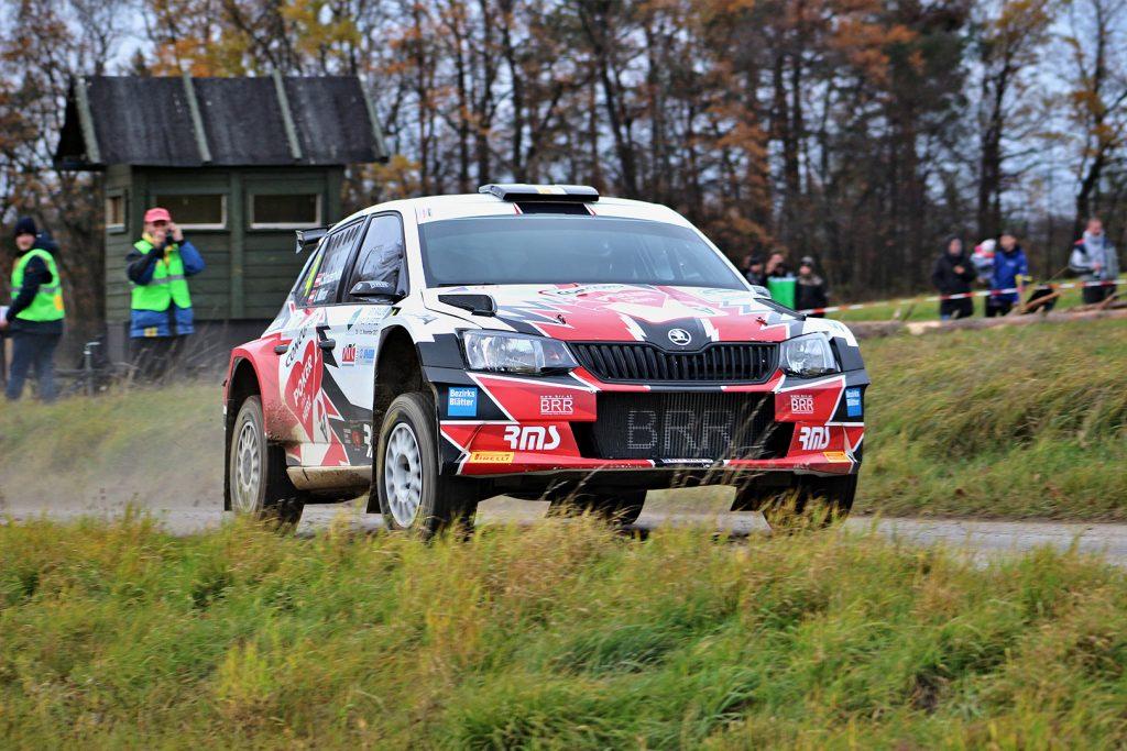 Christian Mrlik / Ilka Minor-Petrasko, ŠKODA FABIA R5, Bezirksblätter Racing Team. Rally Waldviertel 2017