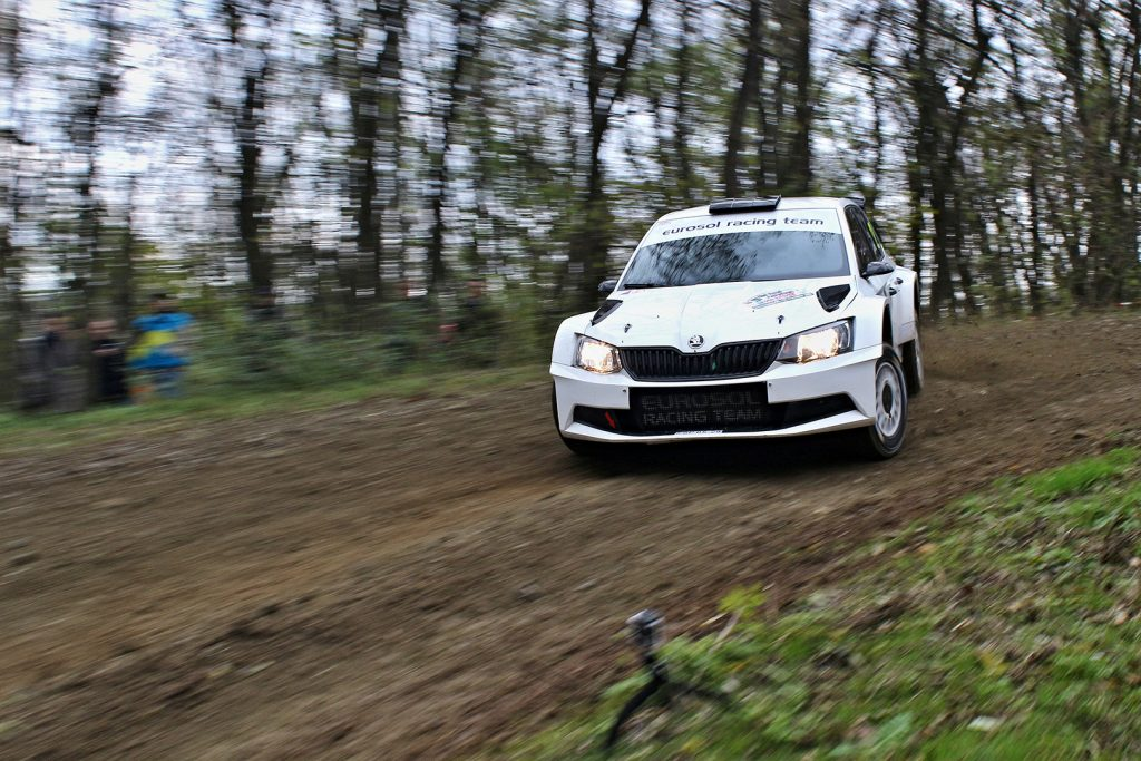 Zoltán Szabó / József Kerekes, ŠKODA FABIA R5, Eurosol Racing Team Hungary. Rally Waldviertel 2017