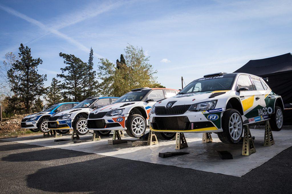 ŠKODA FABIA R5, Team FJ. Rallye du Var 2017