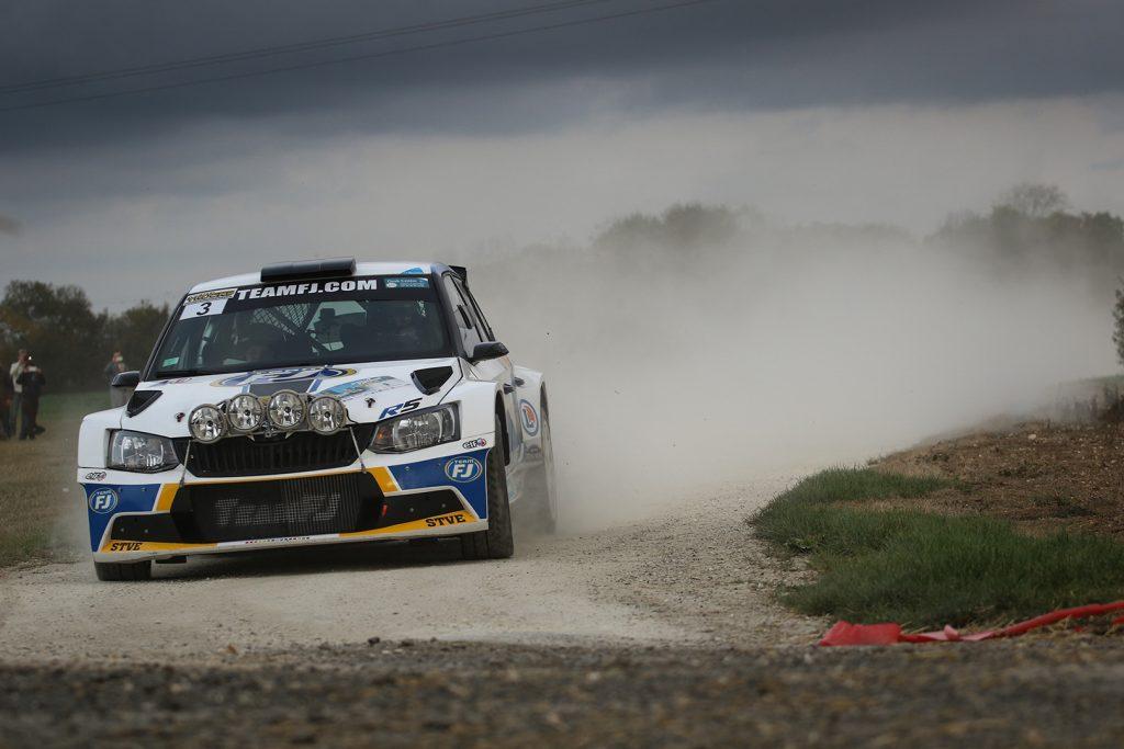 Jérôme Galpin / Anne Galpin, ŠKODA FABIA R5. Rallye National d'Automne La Rochelle 2017