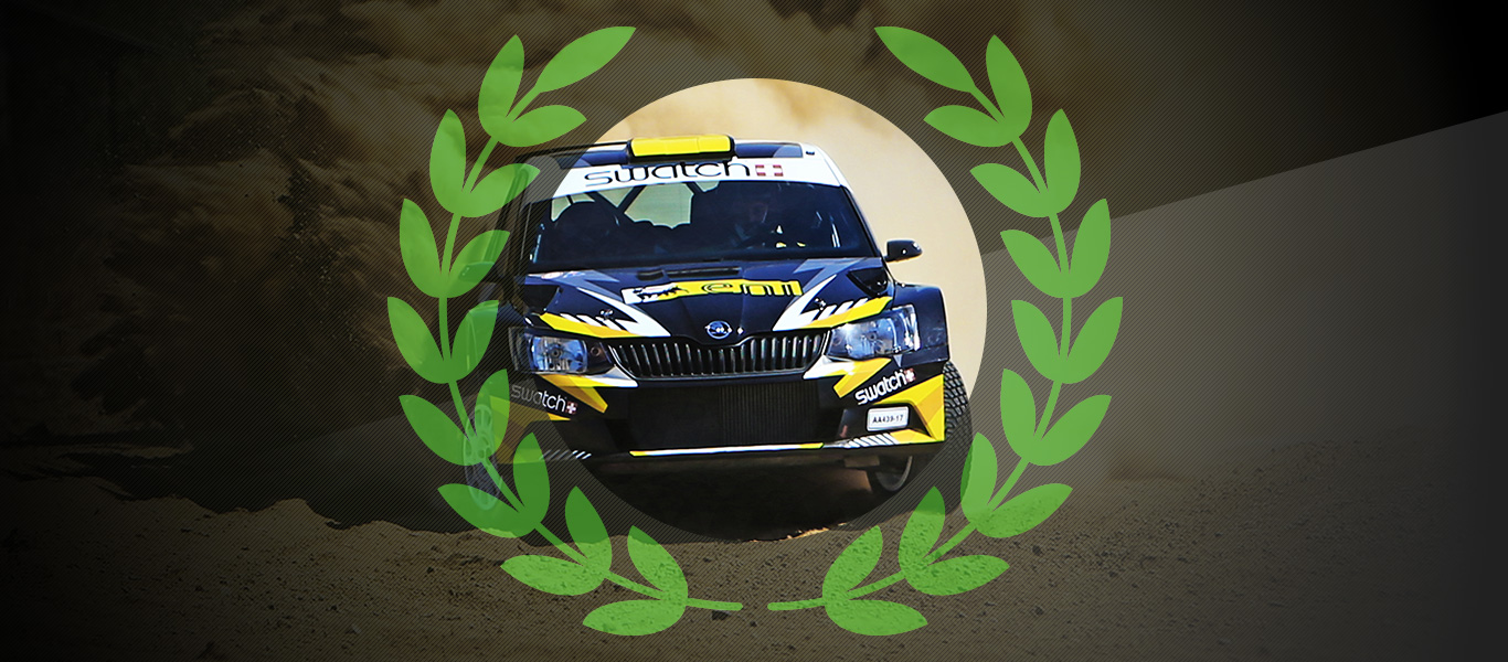 2017 Champs: Switch to FABIA R5 helps Simos Galatariotis clinch Cypriot rally crown