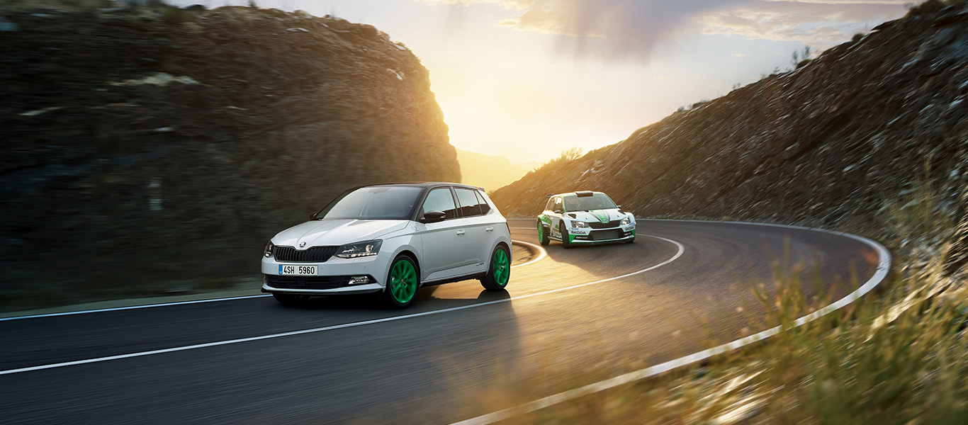 ŠKODA celebrates rally titles with a limited edition of ŠKODA FABIA