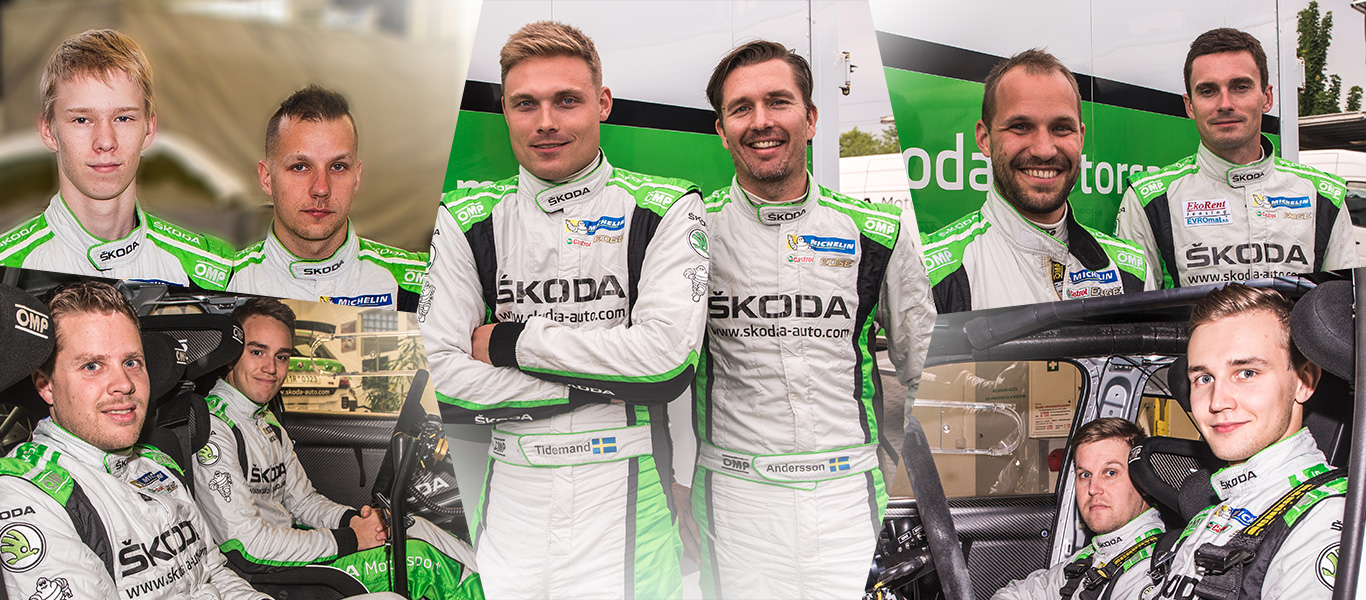 ŠKODA looks back on successful motorsport year WRC2 Champion and 14 national titles