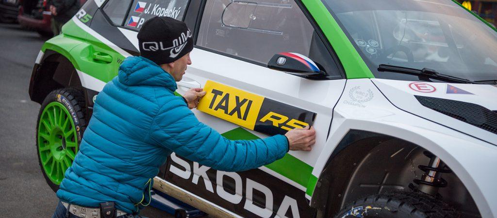 Jan Kopecký, ŠKODA FABIA R5. ŠKODA FABIA R5 Taxi
