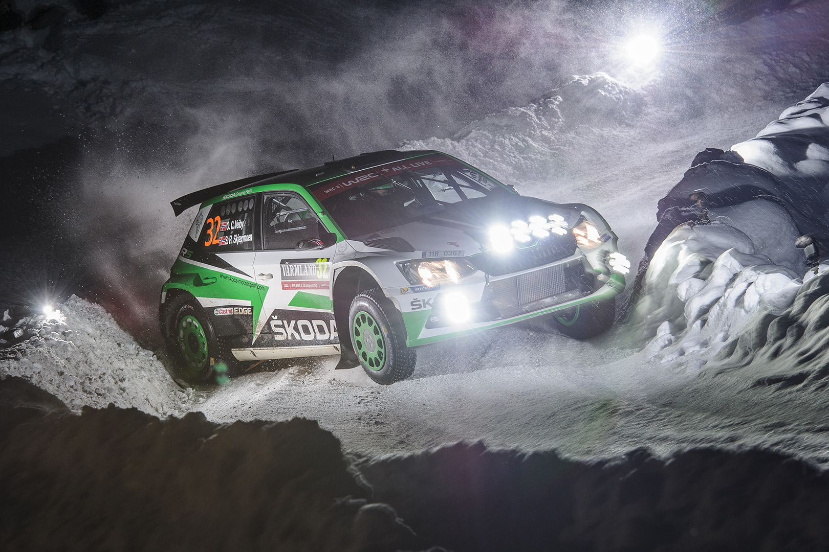 Eerik Pietarinen to Make His Debut with ŠKODA Motorsport at Rally Sweden