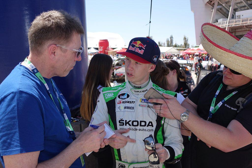 Kalle Rovanperä / Jonne Halttunen, ŠKODA FABIA R5, ŠKODA Motorsport. Rally Guanajuato Mexico 2018