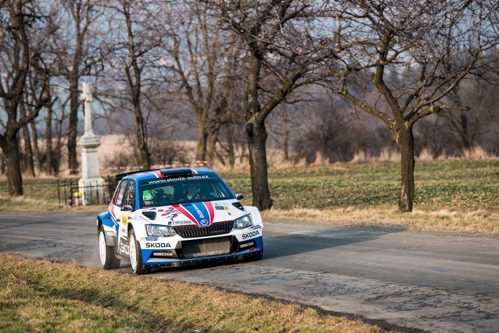 Jan Kopecký / Pavel Dresler, ŠKODA FABIA R5, ŠKODA Motorsport. Valašská Rally 2018