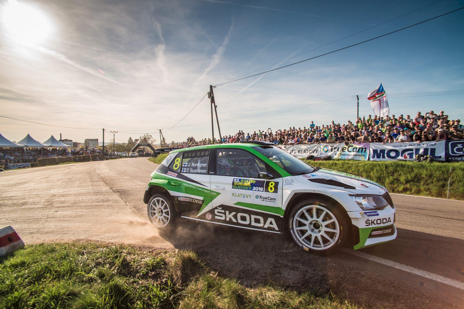 Rallye Šumava Klatovy: Obě tovární posádky na stupních vítězů, Kopecký 1., Nordgren 3. místo