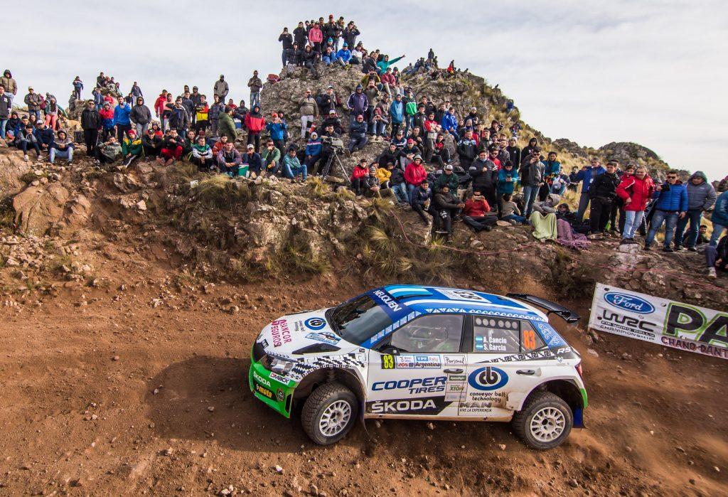 Alejandro Cancio / Santiago Garcia, ŠKODA FABIA R5. Rally Argentina 2018