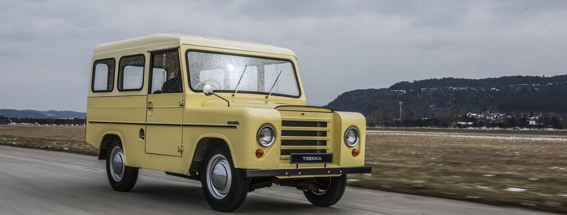 TREKKA: Předchůdce SUV značky ŠKODA byl prvním novozélandským autem